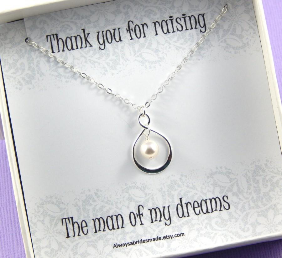 زفاف - Mother Of The Groom Gift - Gift Boxed Jewelry Thank You Gift