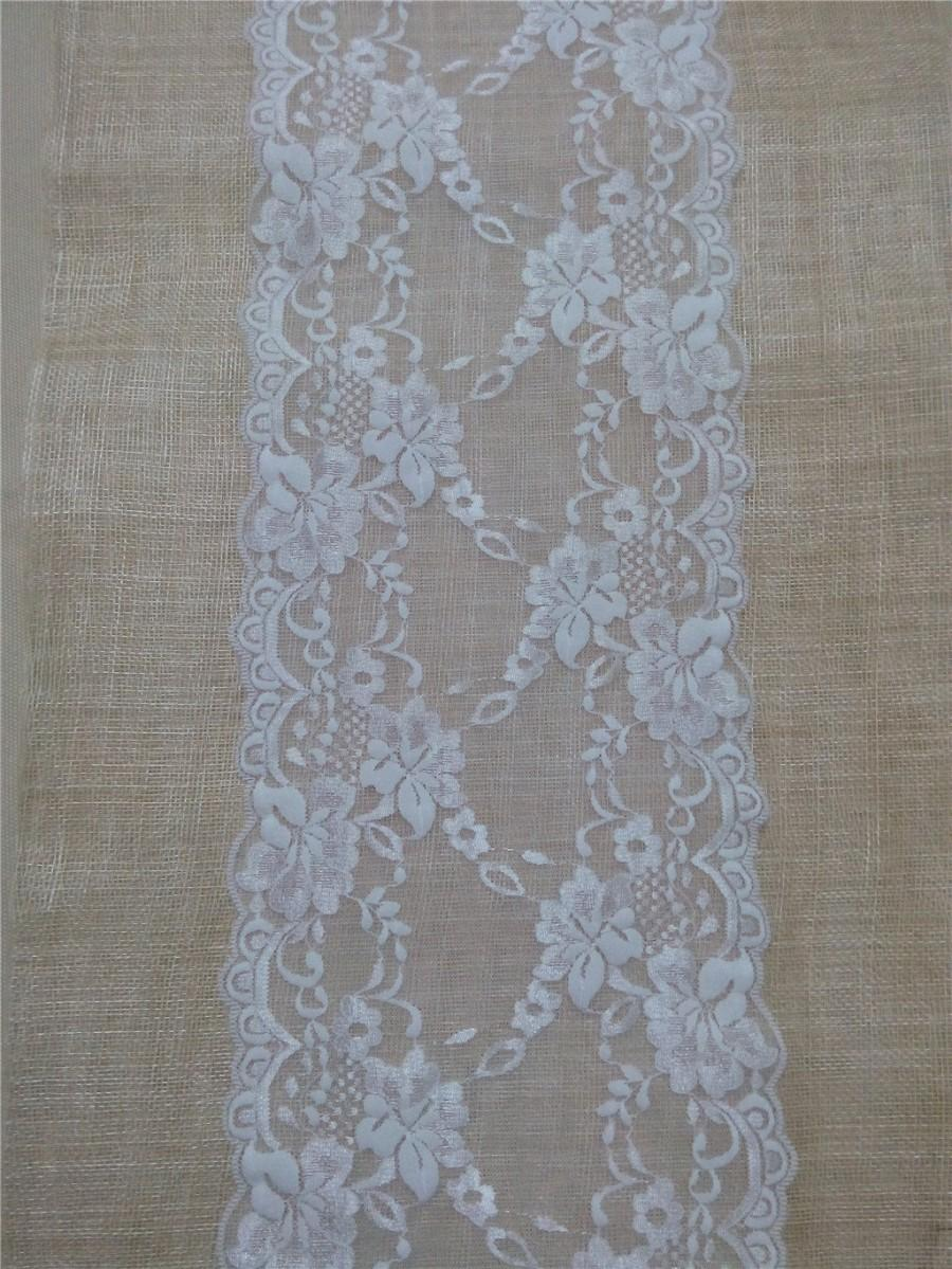 10ft lace table runner 8 wide wedding table runner lace for 10 foot table runner
