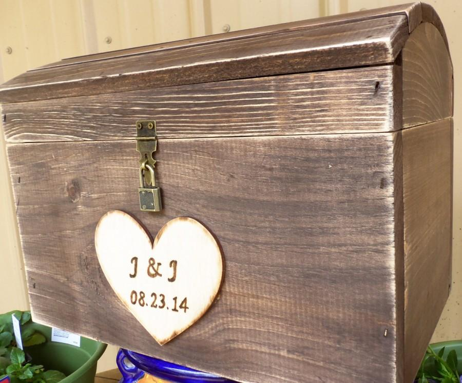 Treasure box for wedding
