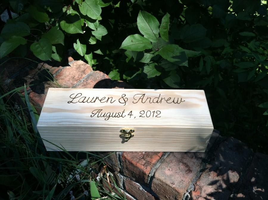 Hochzeit - Wine Box- The Natural Collection