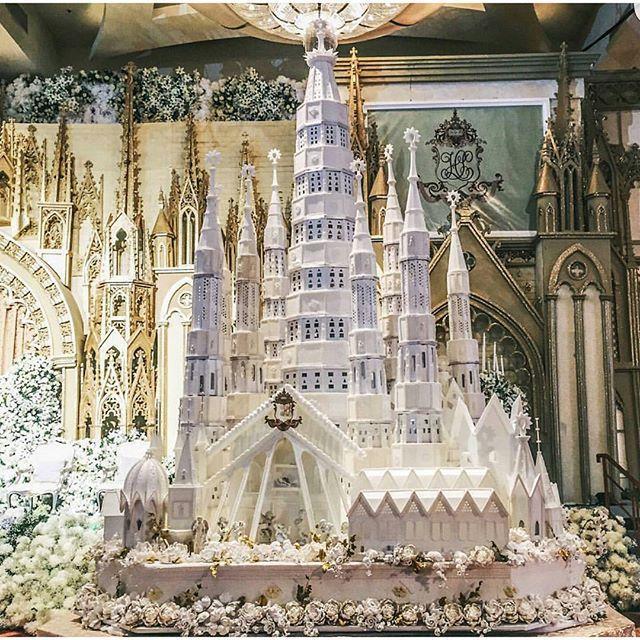 Life Size Fairytale Castle Cake
