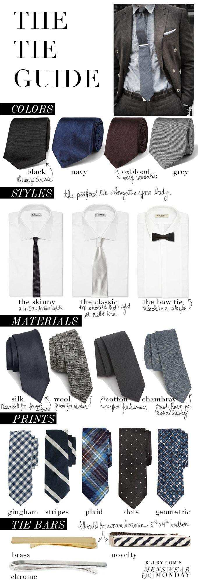 Wedding - The Tie Guide: How To Shop & Wear The Perfect Tie