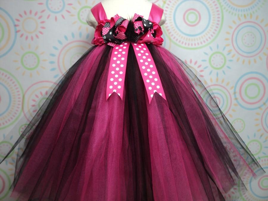 READY TO SHIP For Baby To 2T 3T Toddler Girl Minnie Mouse Hot Pink ...
