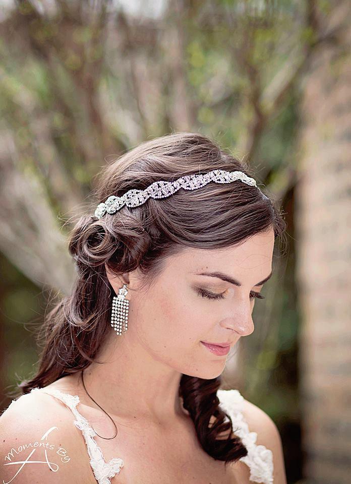 Rhinestone Hairband, Rhinestone Headband, Bridal Headband, Wedding ...