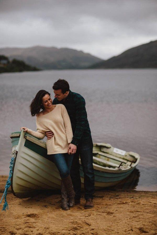 Hochzeit - Foggy Couple Session In The Connemara Mountains