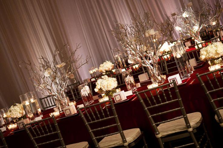 Свадьба - Awe-Inspiring Wedding Receptions With WOW Factors
