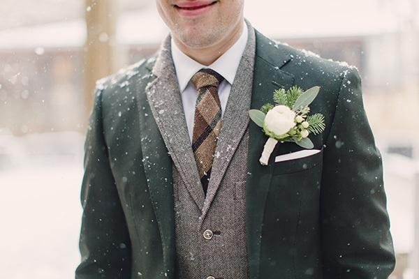 Wedding - Desiree & Ryan's Snowy Warren, NJ Wedding By Lauren Fair Photography