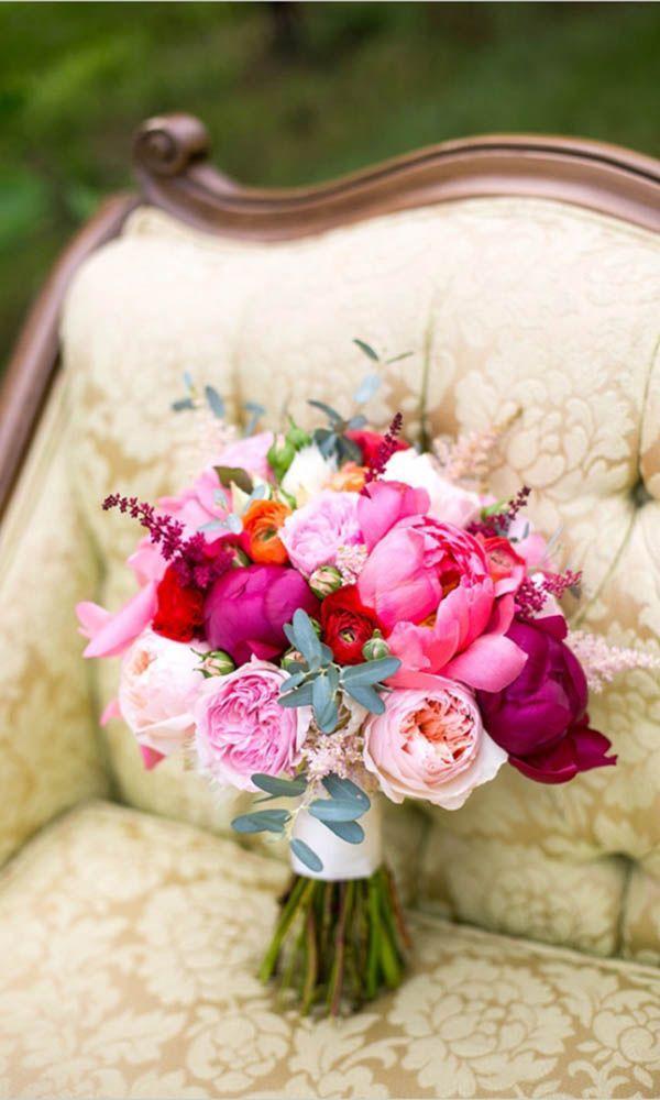 Hochzeit - 30 Gorgeous Summer Wedding Bouquets