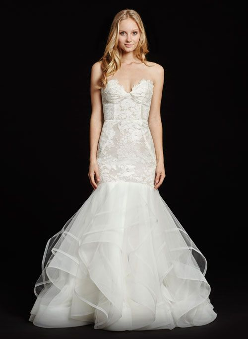 Mariage - Bridal Gowns, Wedding Dresses By Hayley Paige - Style HP6603