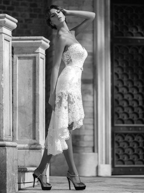 1b8857f216d Classy And Sassy! 25 Utterly Gorgeous Short Wedding Dresses  2483413 ...