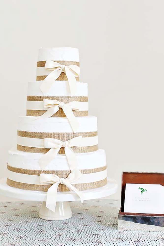 زفاف - 30 Rustic Wedding Cakes For The Perfect Country Reception