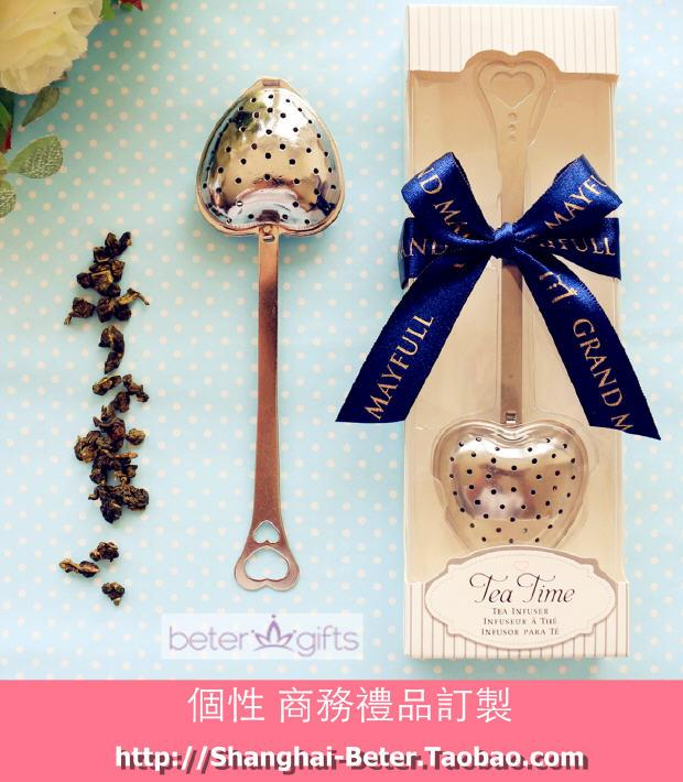 Свадьба - Bridal Shower Favors WJ035/C TeaTime Heart Tea Infuser Favor, Ladies party gifts
