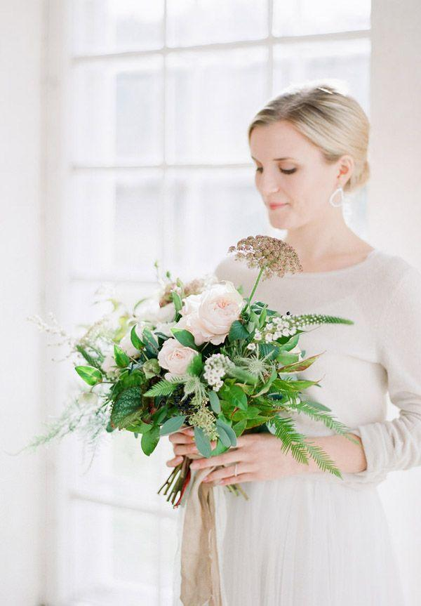 Wedding - Organic Contemporary Winter Wedding Inspiration