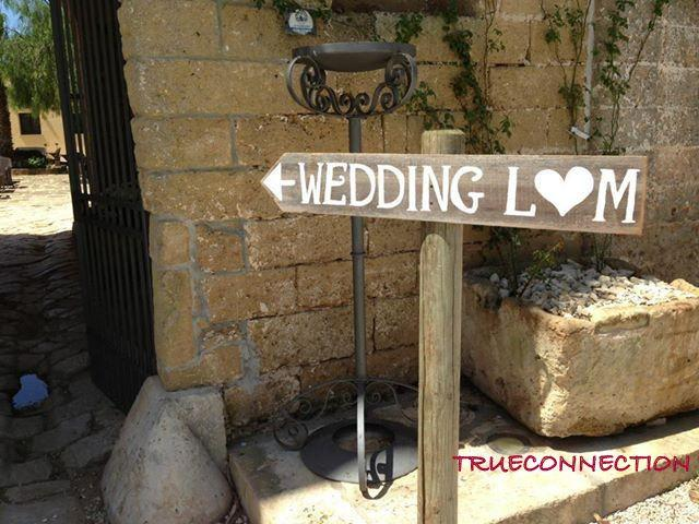 Rustic Wedding Signs Romantic Outdoor Weddings LARGE FONT
