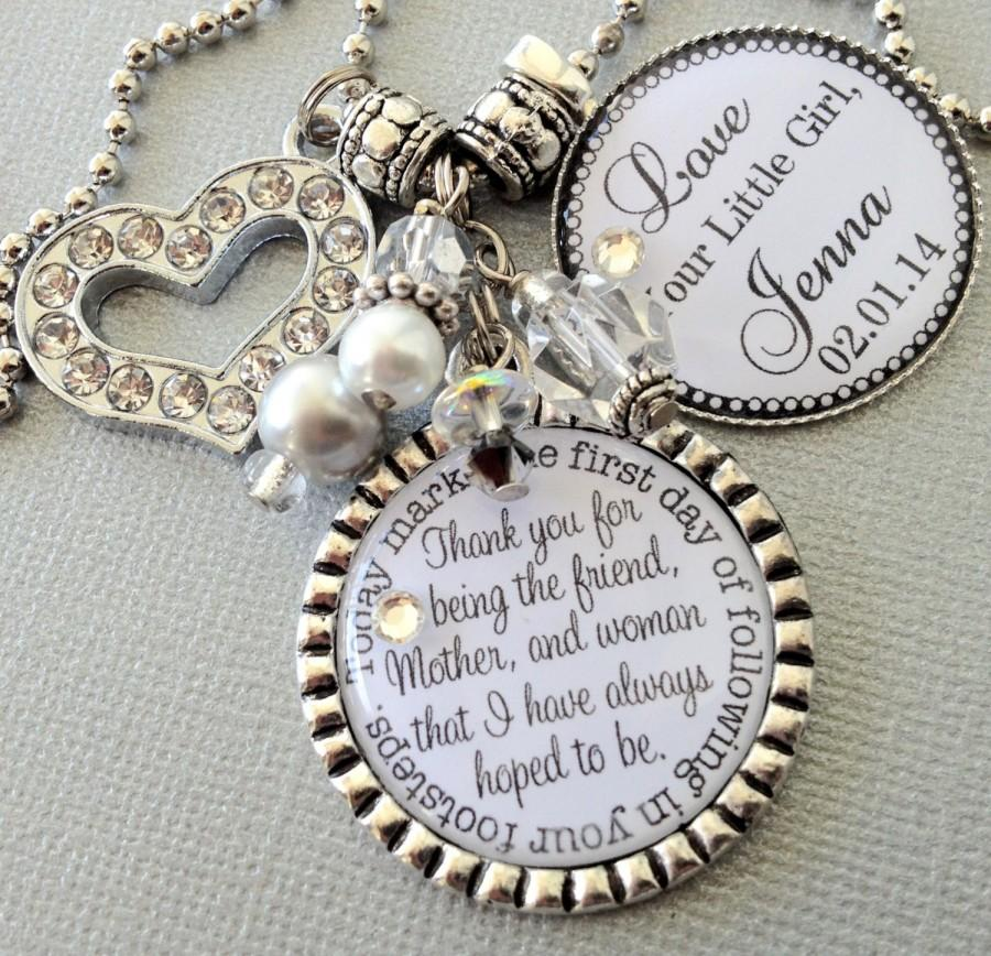 Mother Of The Bride Gift Personalized Keychain Groom Best Friend And Inspiration Quote Love Reciation