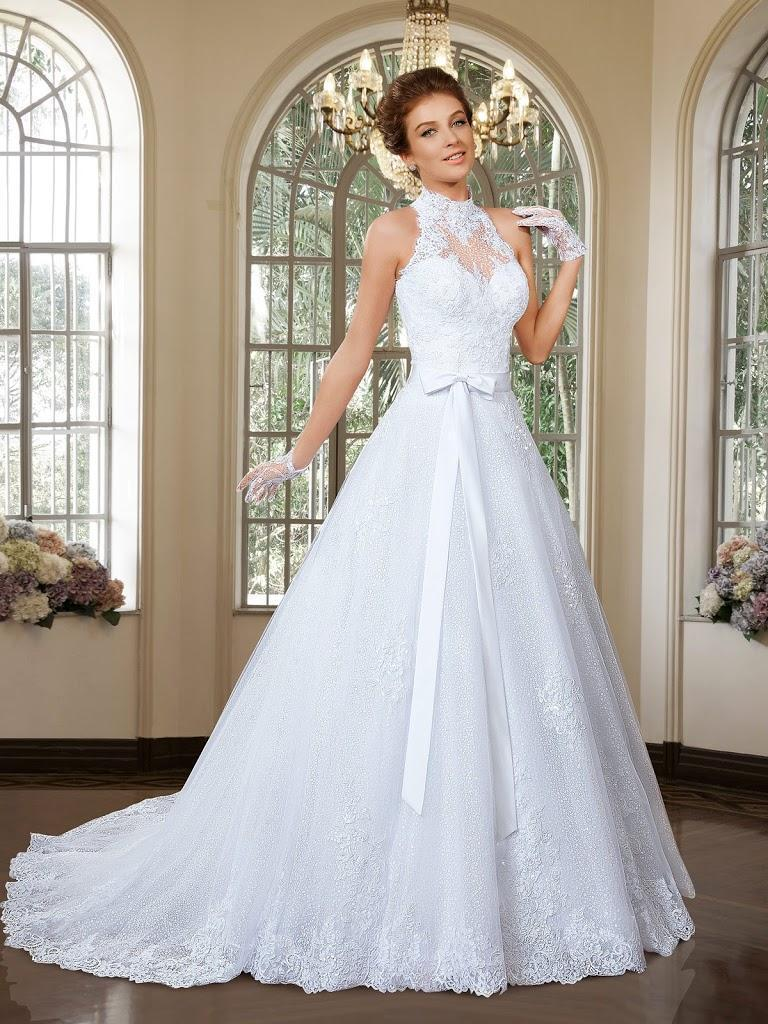 Свадьба - 2016 Wedding Dresses with Detachable Skirt Cheap Bridal Gowns High Neck Sleeveless Beaded Appliques Beach Bridal Ball Gowns with Sash Online with $113.88/Piece on Hjklp88's Store