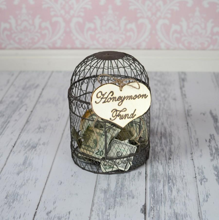 "زفاف - Large Rustic Wedding ""Honeymoon Fund"" Sign for Your Rustic, Country, Shabby Chic Wedding, Bridal Shower, or Bachelor/Bachelorette Party"