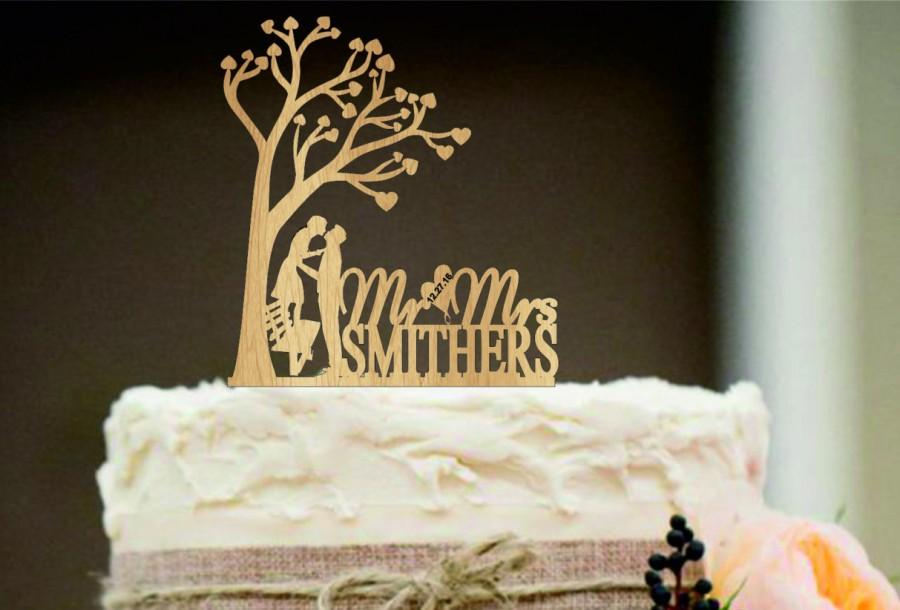 Rustic wedding cake topper personalized wedding cake topper rustic wedding cake topper personalized wedding cake topper silhouette wedding cake topper funny cake topper unique wedding cake topper junglespirit Image collections