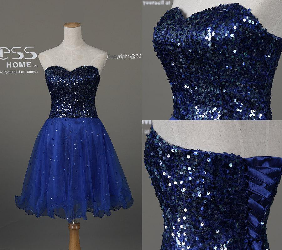 0a694788b74 Royal Blue Sweetheart Beading A Line Short Prom Dress Short Beading Prom  Dresses Short Party Dress Homecoming Dress Royal Prom Dress DH199