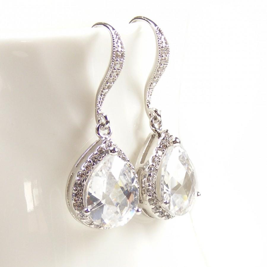 bridal earrings estate style bridal jewelry drop