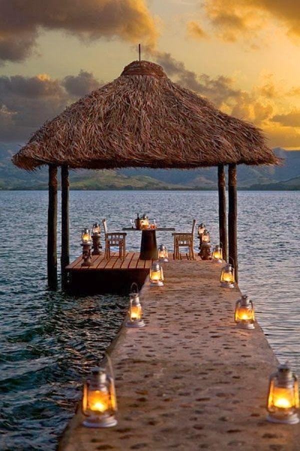 Mariage - Luxurious Dolphin Island Tropical-modern Retreat In Fiji