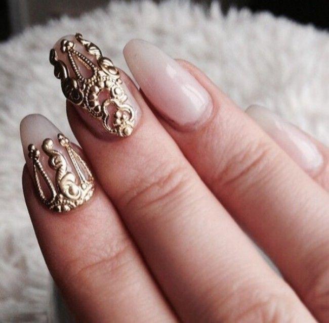زفاف - Jewelry - Gold Nail Accessories Jewels - Outfits Hunter