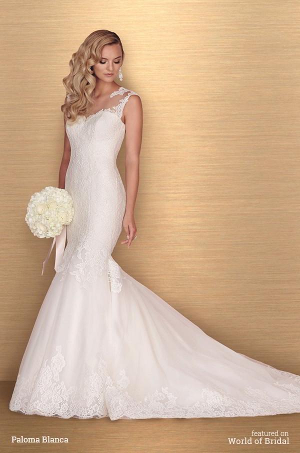 Hochzeit - Paloma Blanca Spring 2016 Wedding Dresses
