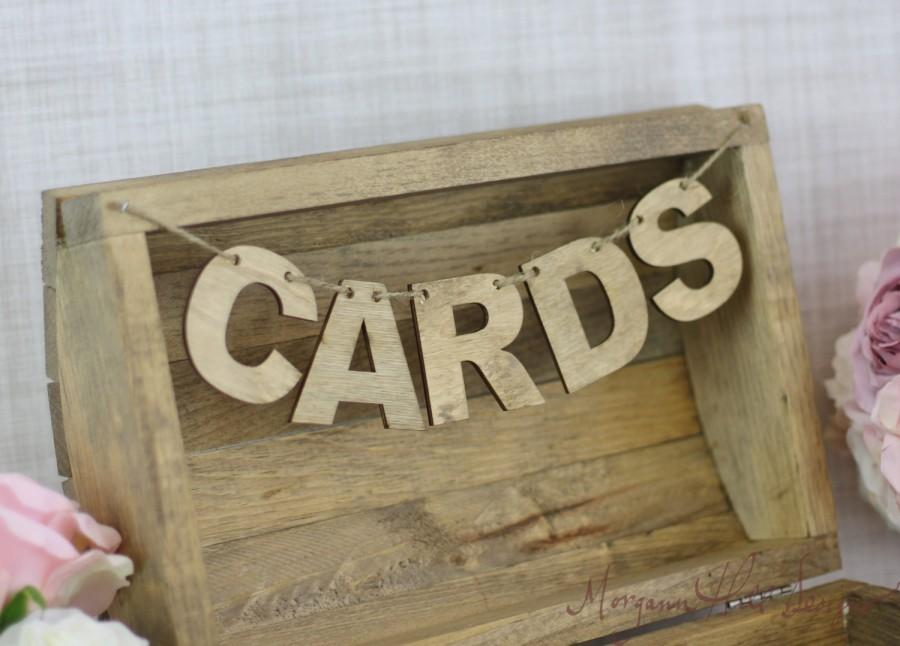 Wedding - Cards Banner For Wedding Card Box (Item Number 130013)