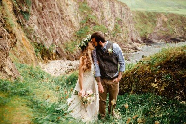 Свадьба - Ethereal Irish Elopement At Connor Pass