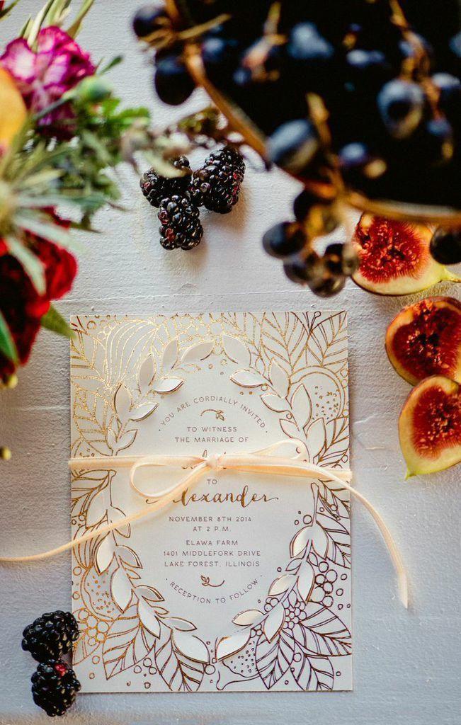 زفاف - Deliciously Styled Chicago Wedding Shoot From La Belle Fleur - MODwedding