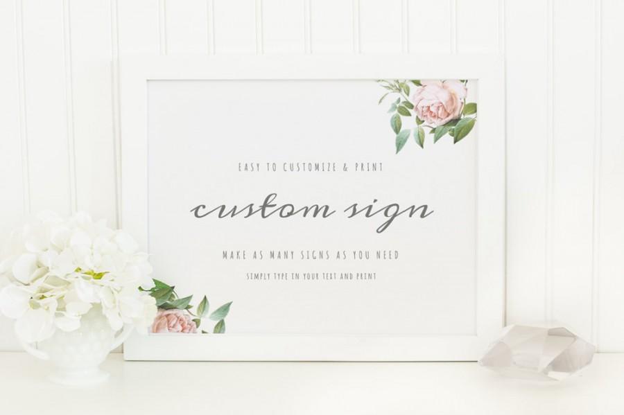 Einladung - Printable Wedding Sign #2484342 - Weddbook