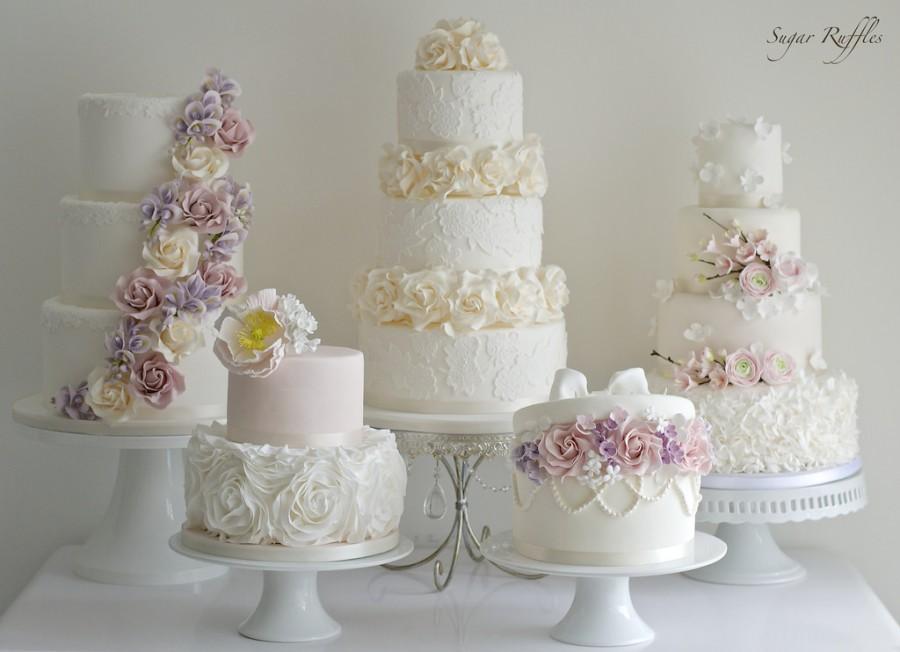 Wedding - Floral Wedding Cake Collection
