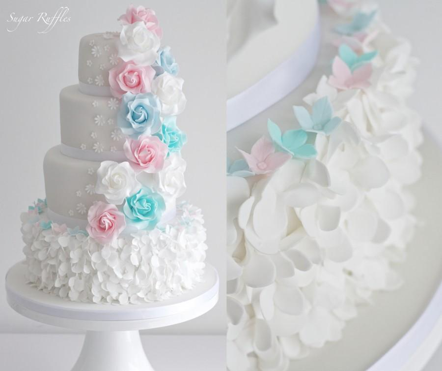 Wedding - Petal Ruffle And Pastel Roses