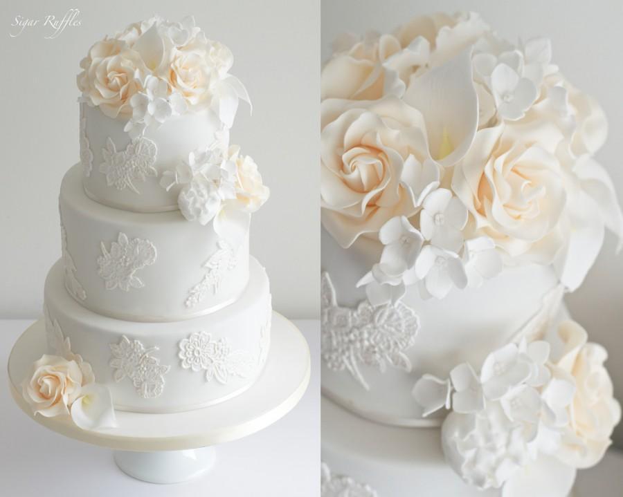 Свадьба - Ivory Wedding Cake