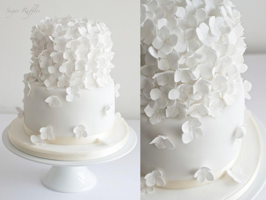 زفاف - Hydrangea Cascade