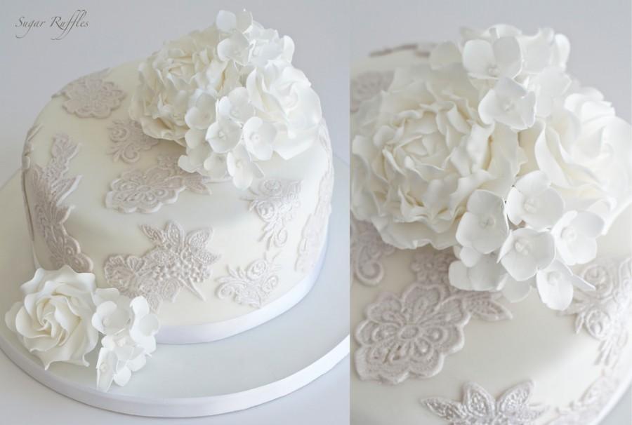 زفاف - Grey Lace