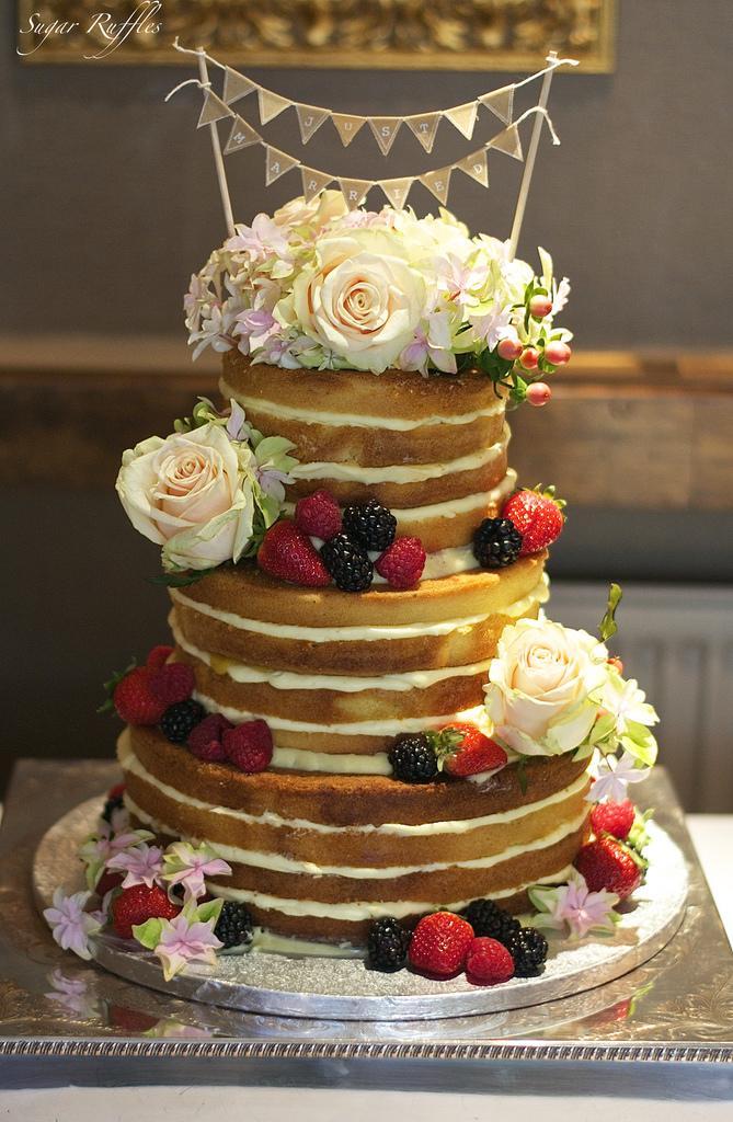 زفاف - Naked Cake