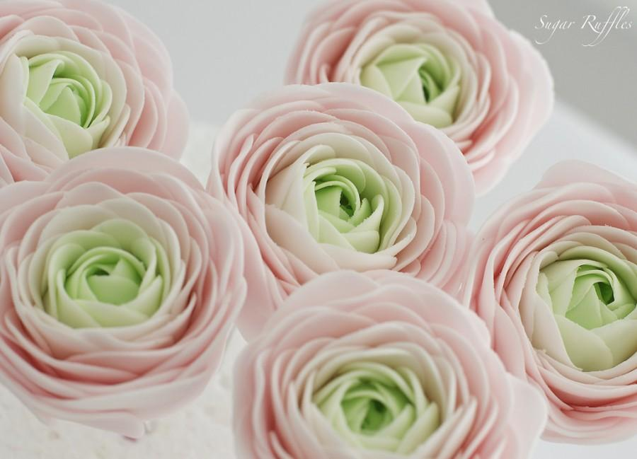 Свадьба - Sugar Flowers- Ranunculus