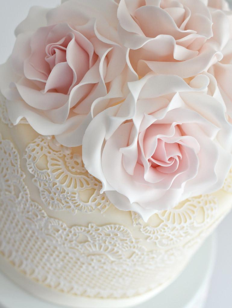 Свадьба - Lace & Roses
