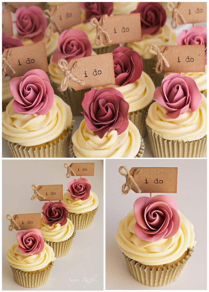 Свадьба - 'i Do' Cupcakes
