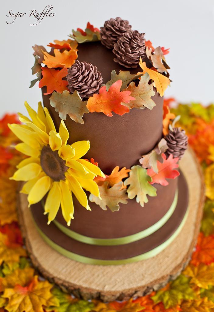 Свадьба - Autumn Cake