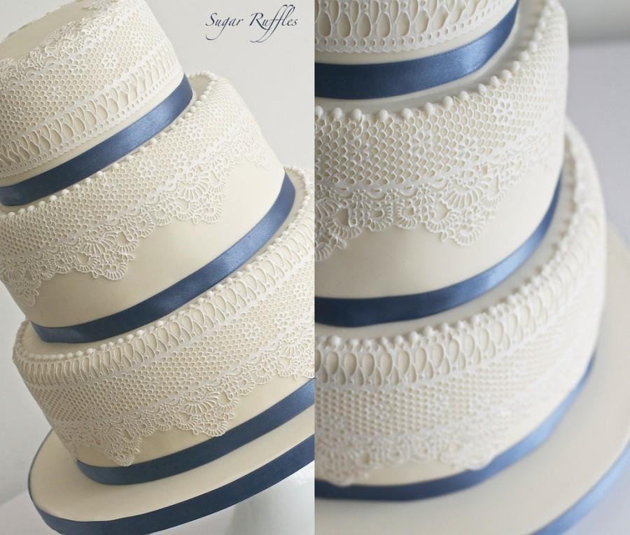 Свадьба - Lace Wedding Cake