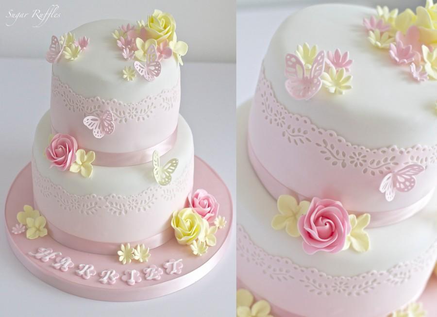 Свадьба - Christening Cake
