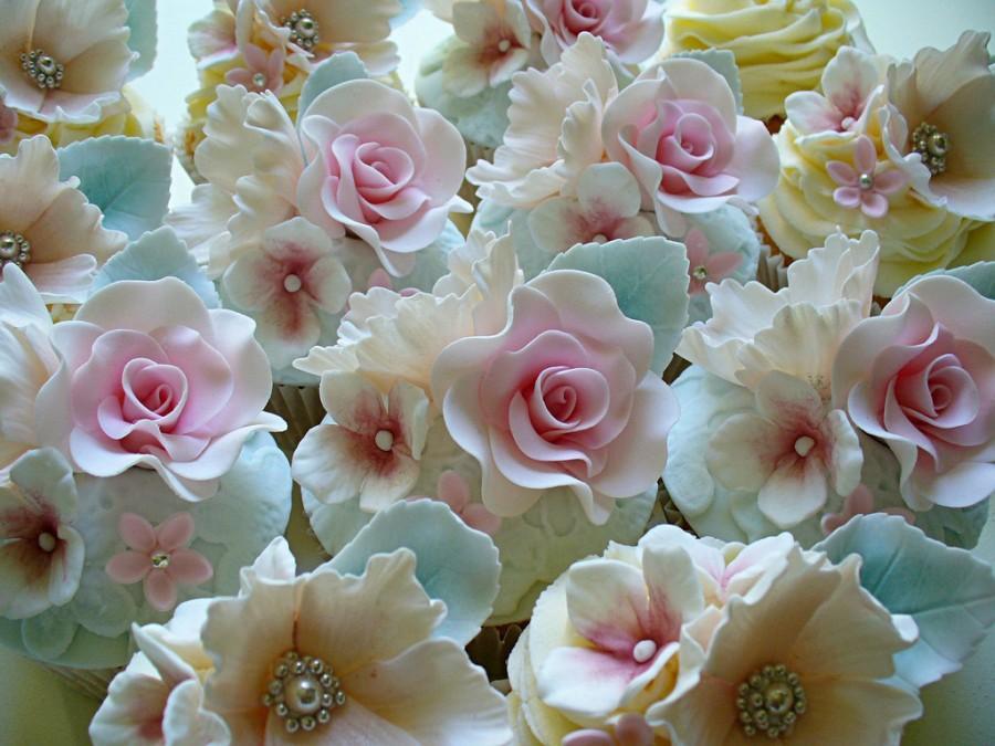 Wedding - Floral Cupcakes