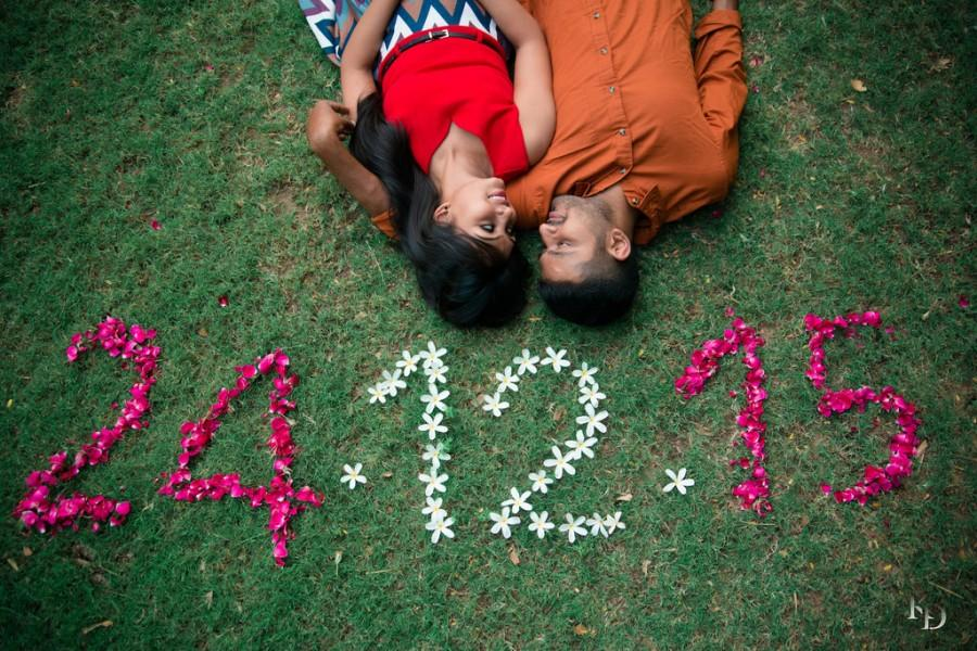 Save The Date Using Flowers Prewedding Ideas Inspiration
