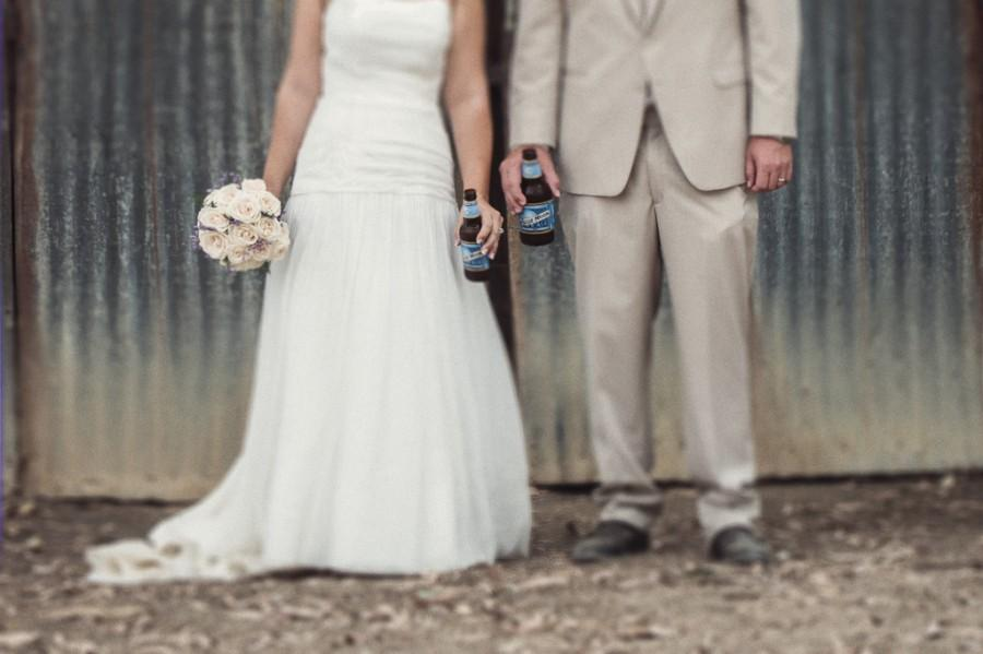 Wedding - Quality Beer = Quality Marriage