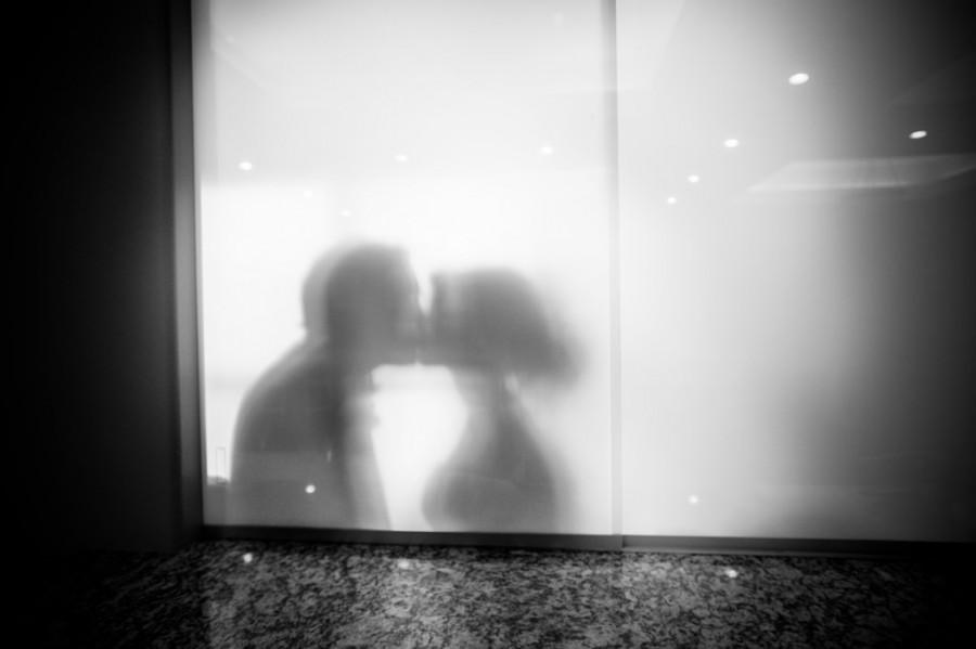 Wedding - Kissing Couple