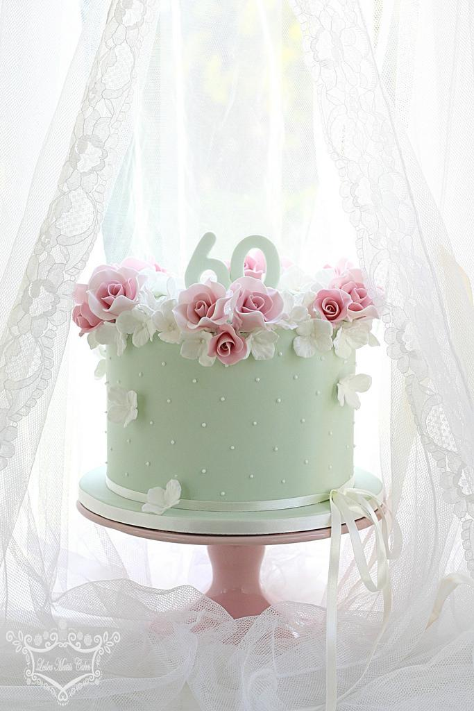 Cake - 60Th Birthday Cake #2484903 - Weddbook