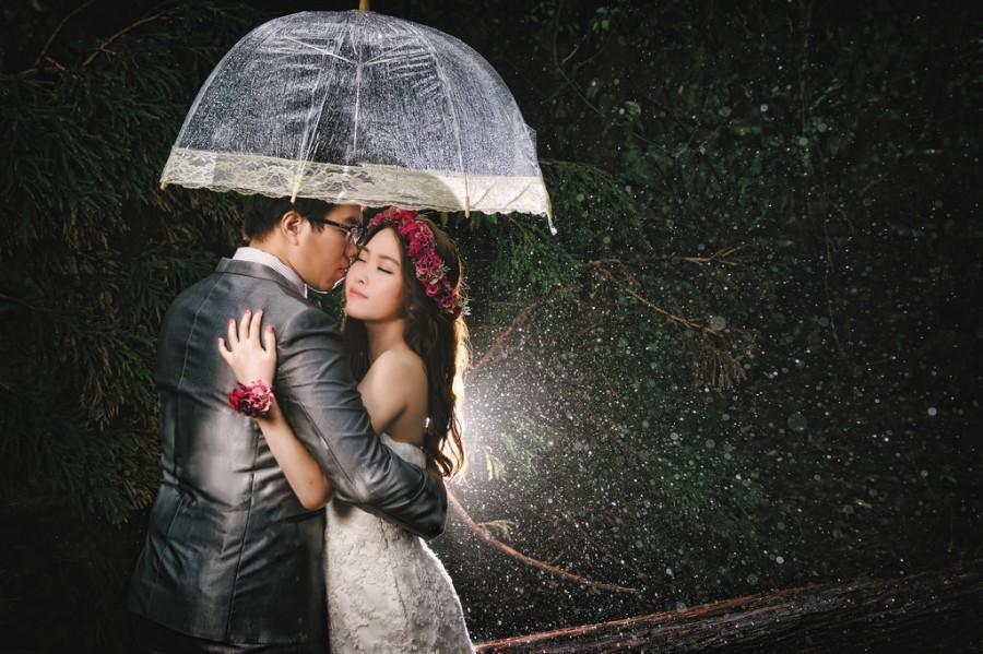 Wedding - [Prewedding] In The Rain