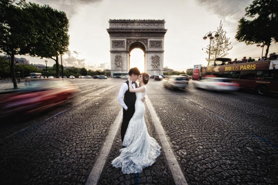 Свадьба - [Prewedding] Arc De Triomphe